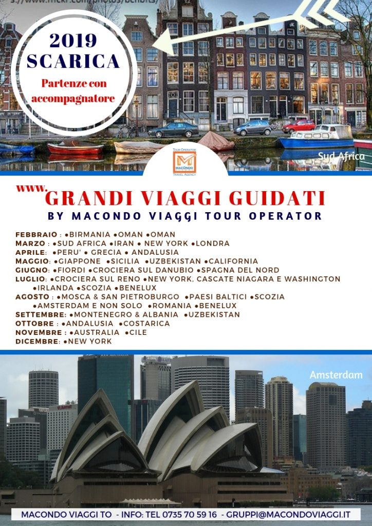 Grandi Viaggi Guidati  By Macondo Viaggi Tour Operator