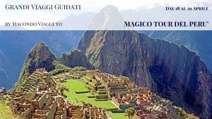 MAGICO TOUR DEL PERU'